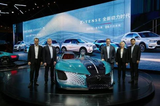 上海车展最强新能源矩阵亮相,DS宣告E-TENSE全新动力时代来临