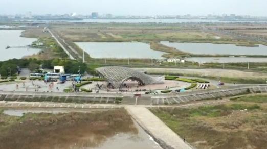 行走在野外|高清航拍!距离上海中心城区76公里的大湖泊
