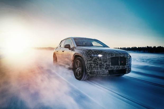 宝马在北极圈进行BMW i下一代纯电动车极寒测试