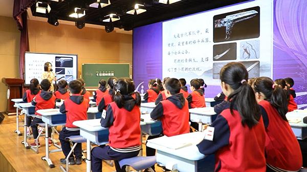 视频  |  古今联通 沪上小学别样拓展课传播传统文化
