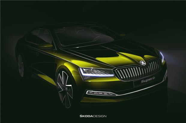 斯柯达发布新速派设计图