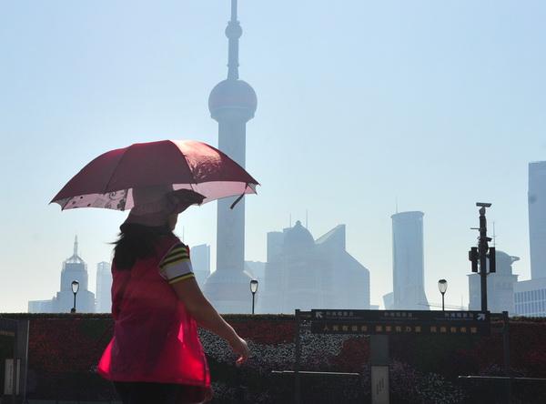 上海已入夏 今起气温继续攀升