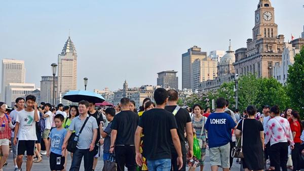 就在刚才,申城气温超31度、创今年新高!