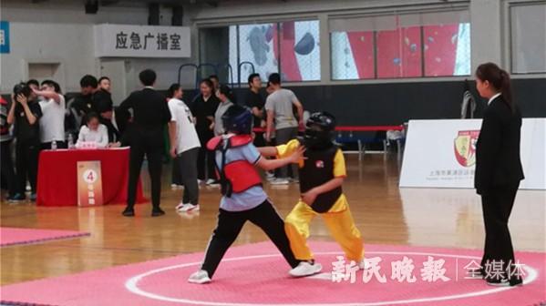 """""""聚咏堂杯""""第三届上海市中小学生咏春拳比赛成功举办"""