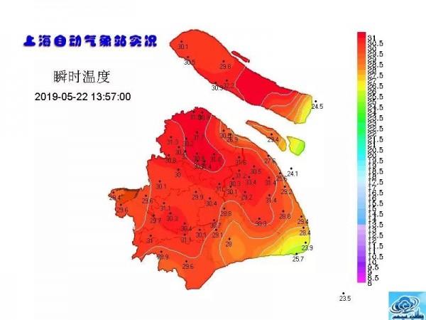 31.3℃!气温蹭蹭地涨~明后天直飙33度!