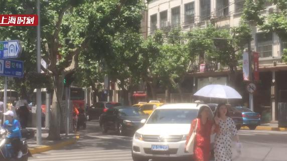 视频 | 34.1℃!申城开启热模式,气温再创今年以来新高
