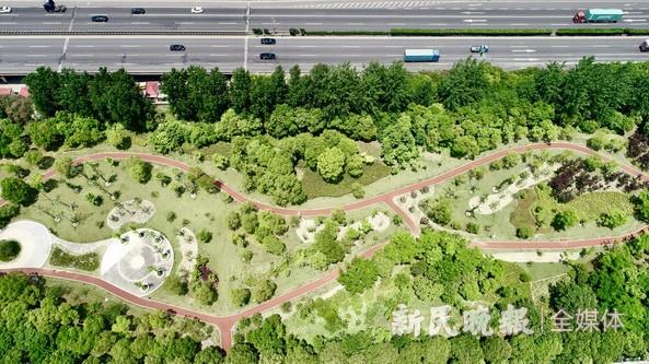 嘉定环城林带绿道建成