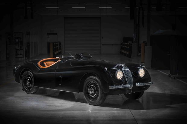 捷豹经典车部门携手英国超模打造定制版XK120