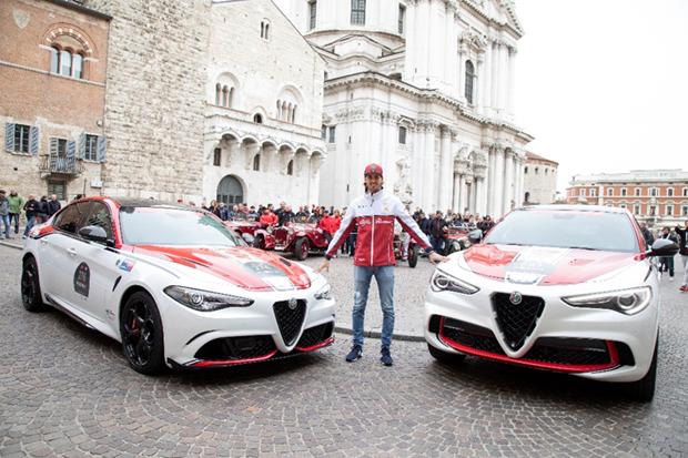 阿尔法·罗密欧出征2019 Mille Miglia一千英里耐力赛