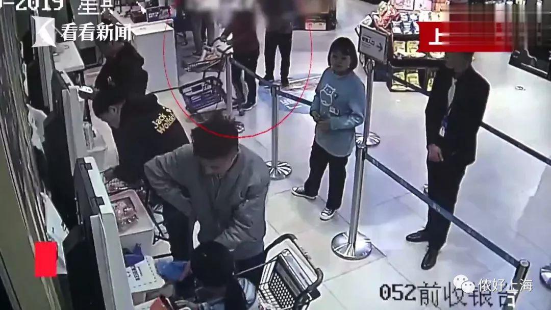 上海一老阿姨盒马超市偷菜成瘾,每2天偷1次!有时还拖家带口!