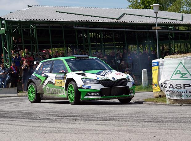 斯柯达晶锐R5 evo首战WRC