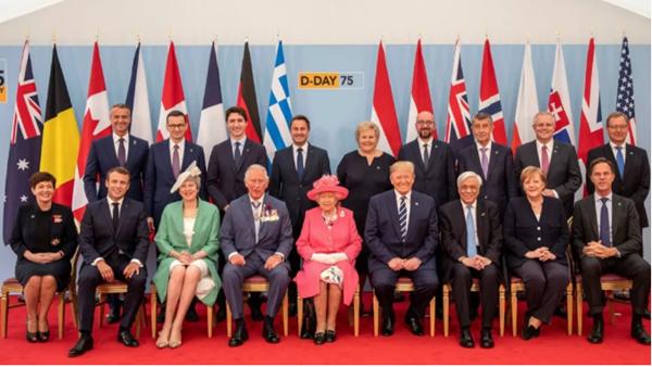 诺曼底登陆75周年纪念仪式场面盛大,但特朗普不是来拯救欧洲的