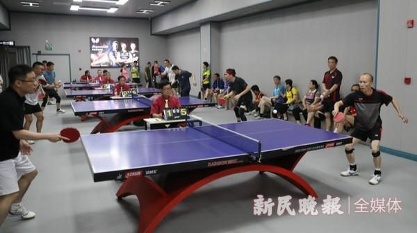更宽敞,更亮堂,市民能享更新一级的乒乓运动场所
