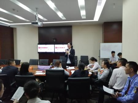 """寧波銀行上海分行開展""""垃圾分類""""主題培訓"""