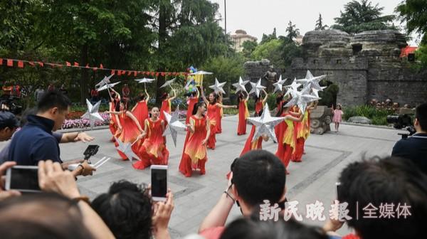 江湾镇街道古镇文化节开幕