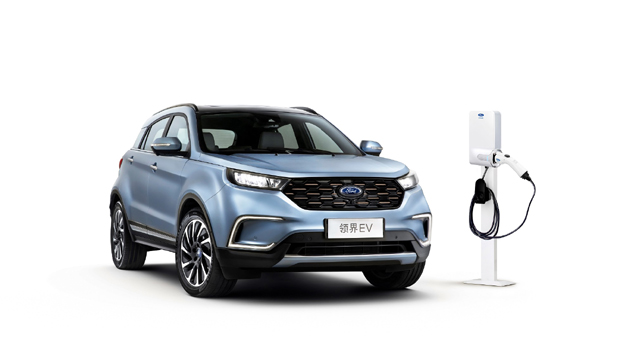 福特中国公布首款纯电动车型领界EV