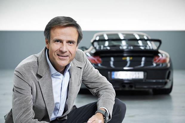 保时捷首席设计师毛迈恪谈首款纯电动跑车Taycan