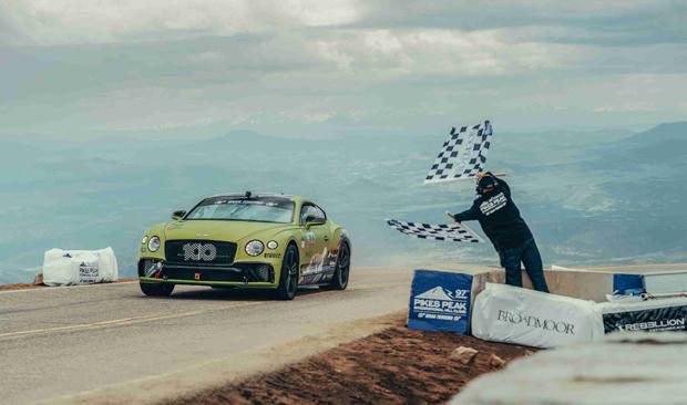 宾利全新欧陆GT刷新派克斯峰登山赛量产车组别纪录