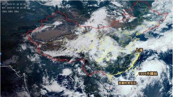 """""""丹娜丝""""明天傍晚经过上海同纬度 风雨影响不算大"""