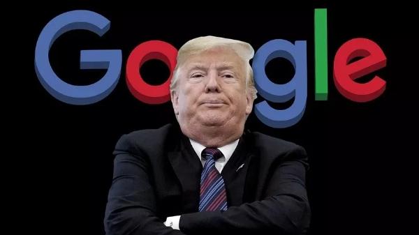 """特朗普又称谷歌""""暗通""""中国,这出戏是做给对台军售的企业看的吗?"""