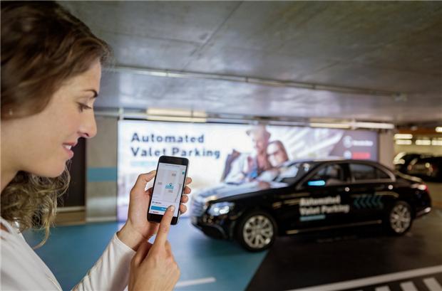 全球首例:戴姆勒和博世获批无人监督自动泊车的许可