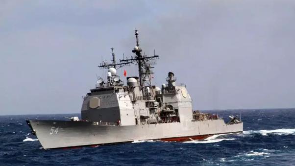 美军舰昨再闯台湾海峡!再厉害的牌,打多了就没用了
