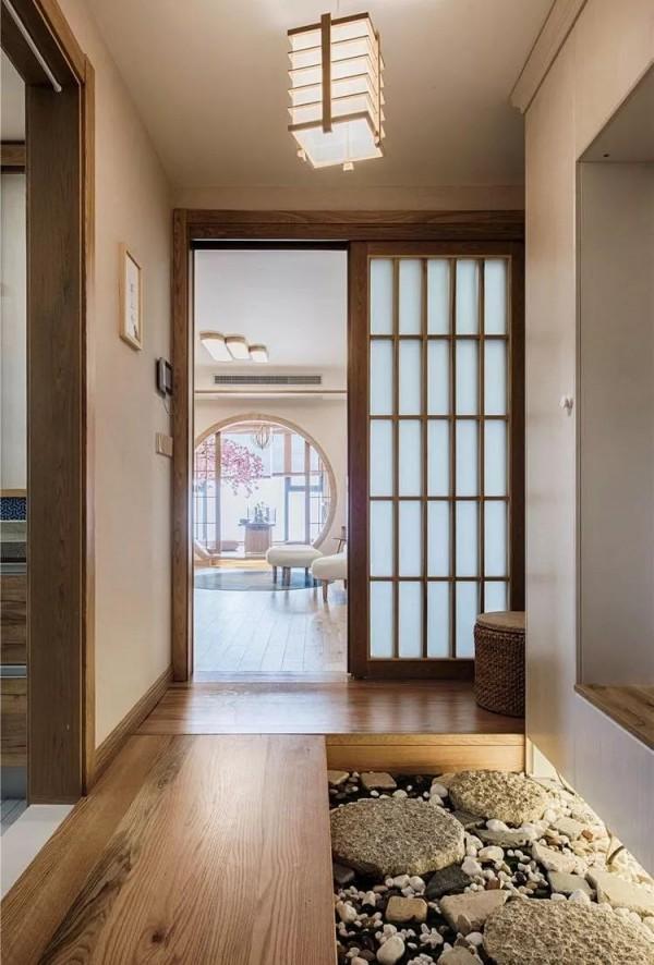 日式风格收纳就是多,130平三居这样装修,不得不佩服设计师