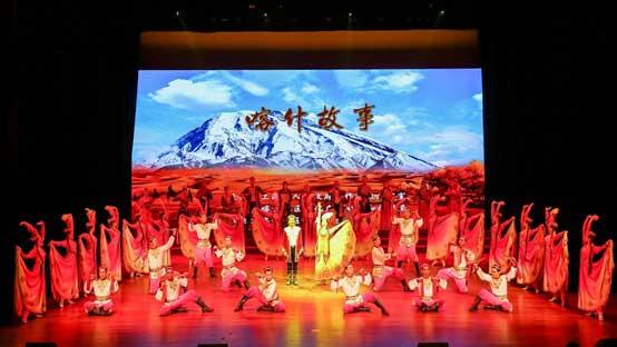 交流 | 喀什歌舞剧团赴上海感恩援疆文化交流演出
