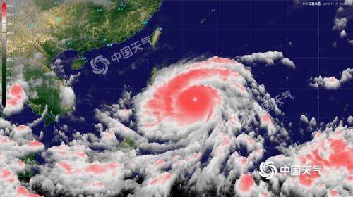 """""""新手""""台风""""白鹿""""生成 周末可能登陆华南沿海"""