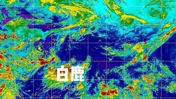 """11号台风""""白鹿""""生成!未来是否影响上海?"""