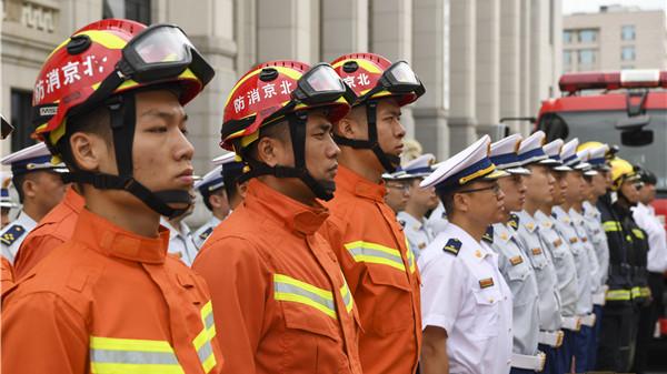 """国内首创  国博从此有了""""专属消防站""""贴身守护"""