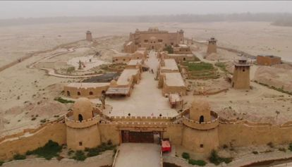 锡提亚迷城——戈壁沙漠漠中的一颗明珠
