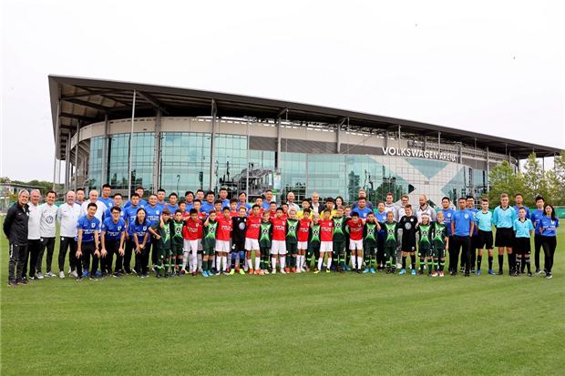 大众汽车青少年足球项目再升级