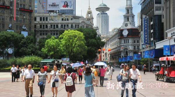 南京路步行街影响力向东辐射将延伸到外滩