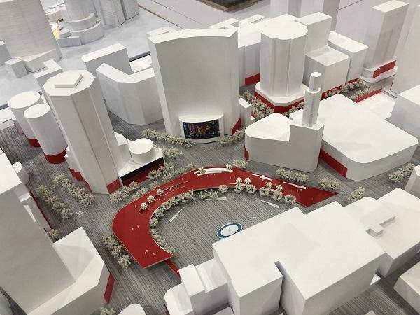 南京东路世纪广场喜获20岁生日礼 长三角大学生为它订制形象设计方案
