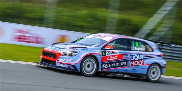 现代汽车高性能赛车i30 N TCR闪耀宁波国际赛道