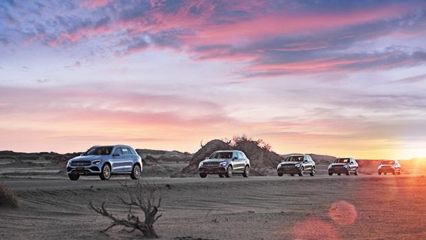 奔驰长轴距GLC SUV远征之旅媒体试驾凯旋收官