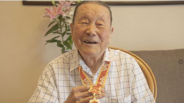 视频 | 70年前,25岁的他在天安门城楼上亲历开国大典
