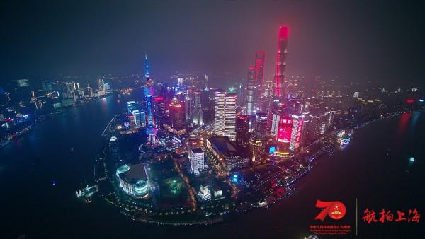 """超燃大片!航拍上海24小时,16区混剪版亮出魔都的""""精气神"""""""