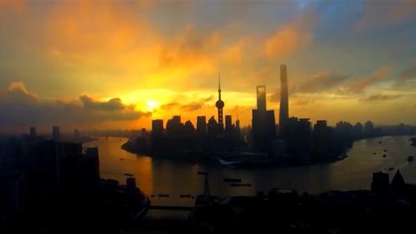 航拍上海|锁定飞跃魔都的最美一刻