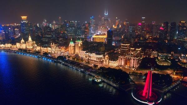 一座城,十六个区,4分20秒带你看航拍上海!