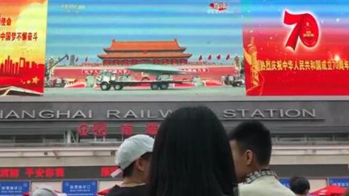 视频 | 激动、骄傲、自豪……看了大阅兵,上海市民说了这些来点赞!