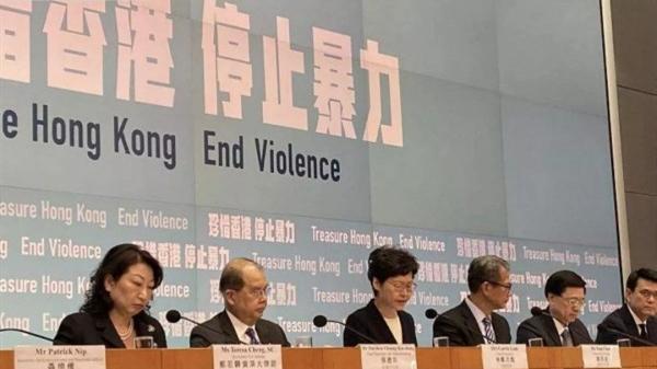 """香港警方对暴徒发出最严厉谴责,""""禁蒙面法""""能否扭转局势,关键看执法!"""