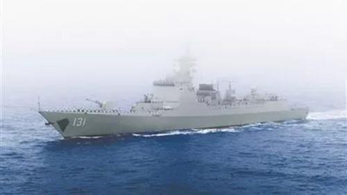"""""""太原""""号导弹驱逐舰为何驶往东京相模湾?"""