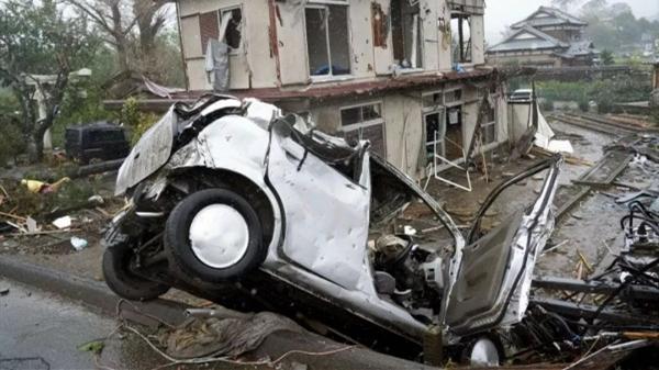 台风、地震、火山喷发……一天内遭遇大自然N连击,日本昨天确实惨