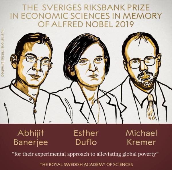 经济学诺奖授予3位经济学家正规开户平台:表彰其缓解全球贫困所作贡献