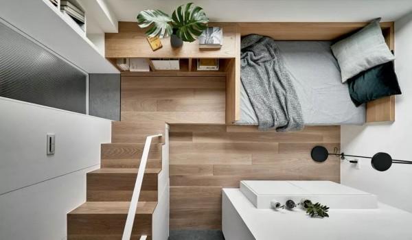 一个人的华宅——17.6㎡极小公寓