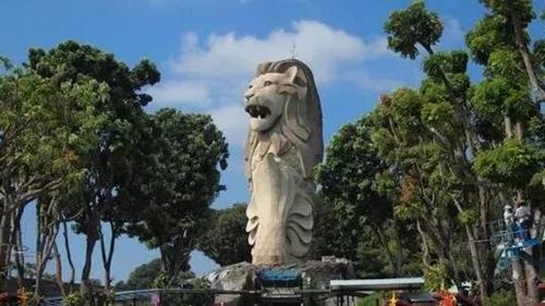 泪目!为什么要拆圣淘沙鱼尾狮?