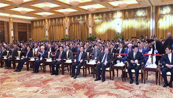 习近平主席发来贺信的这个高级别国际会议上,上海市委书记李强、国务委员王勇说了这些