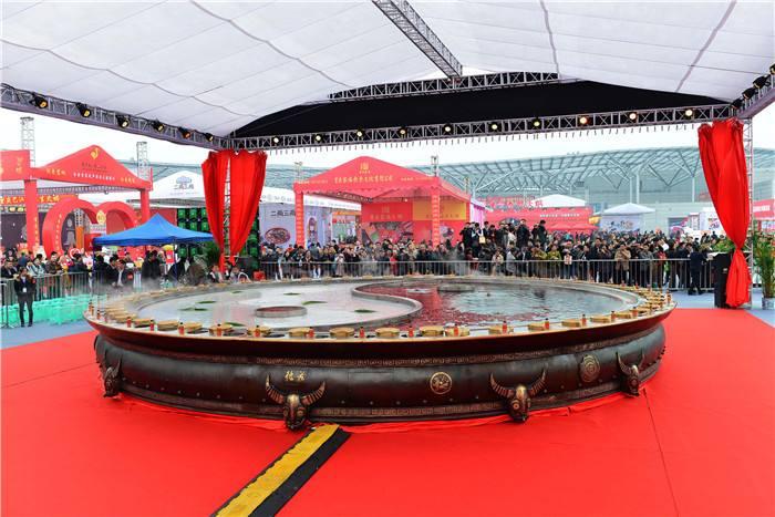 """史上最大!创吉尼斯纪录的""""天下第一大火锅""""要来上海啦!"""